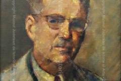 """""""Autoportret"""" din 1949. Ulei pe pânză"""
