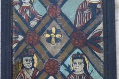 Icoană Masa raiului - centrul Nicula