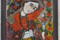 MAICA DOMNULUI JALNICĂ - Icoană pe sticlă