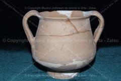 Vas de băut (kantharos) lucrat la roată, Porolissum Măgura Moigradului