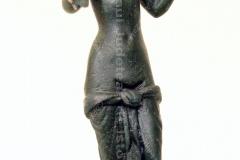 """Statuetă romană din bronz """"Zeița Venus"""""""