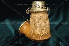 Zalău – pipă sculptată cu ornamente – bresle ok