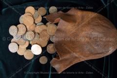 Zalău – pungă de piele cu monede – bresle
