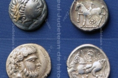 Tetradrahme descoperite la Stâna