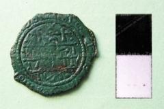 Moigrad-Măgura. Monedă emisă de regele Ungariei, Bela III (1172 -1196).