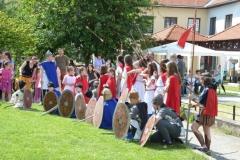 Barbari pregătiți de luptă